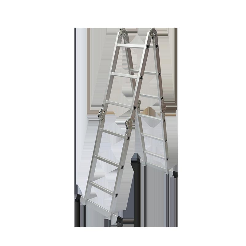 折りたたみラダーの最初の使用方法は?
